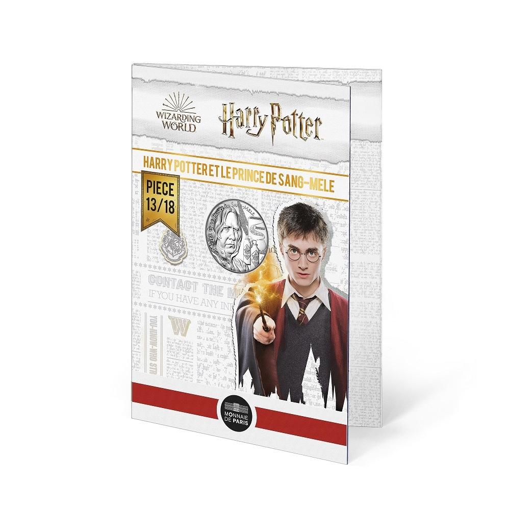 (EUR07.Unc.2021.10041357020005) 10 euro France 2021 Ag - Harry Potter & Half-Blood Prince (blister) (zoom)