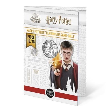 (EUR07.Unc.2021.10041357020005) 10 euro France 2021 Ag - Harry Potter et le Prince de sang-mêlé (packaging)