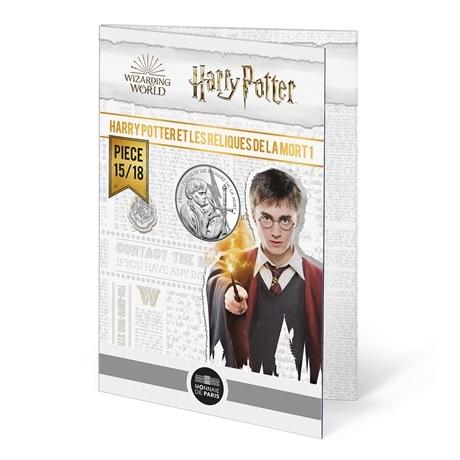 (EUR07.Unc.2021.10041357030005) 10 euro France 2021 Ag - Harry Potter et les Reliques de la Mort (packaging)