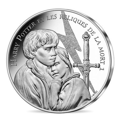 (EUR07.Unc.2021.10041357030005) 10 euro France 2021 argent - Harry Potter et les Reliques de la Mort Avers