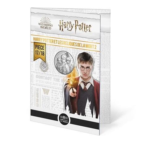 (EUR07.Unc.2021.10041357040005) 10 euro France 2021 Ag - Harry Potter et les Reliques de la Mort (packaging)