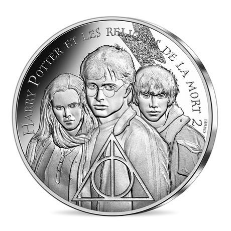 (EUR07.Unc.2021.10041357040005) 10 euro France 2021 argent - Harry Potter et les Reliques de la Mort Avers
