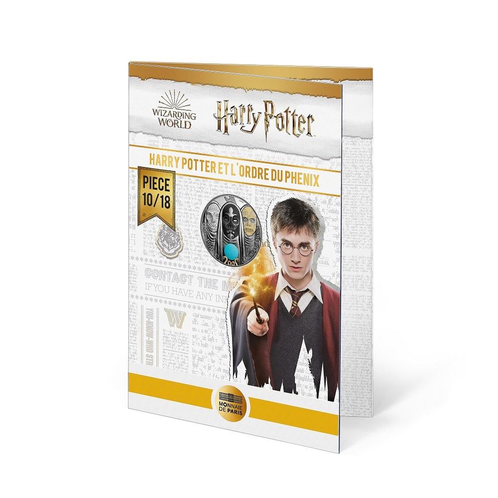 (EUR07.Unc.2021.10041357050005) 10 euro France 2021 Ag - Harry Potter & Order of Phoenix (blister) (zoom)