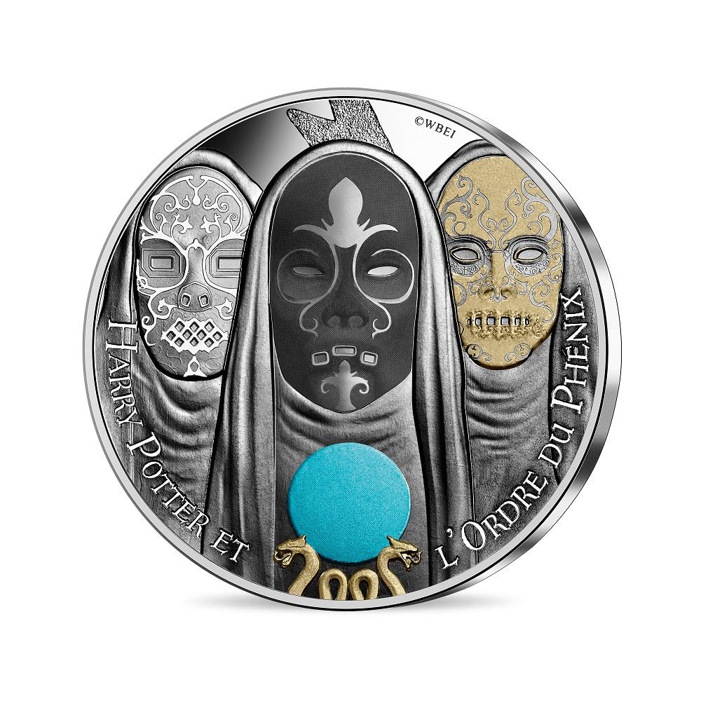 (EUR07.Unc.2021.10041357050005) 10 euro France 2021 silver - Harry Potter & Order of Phoenix Obverse (zoom)