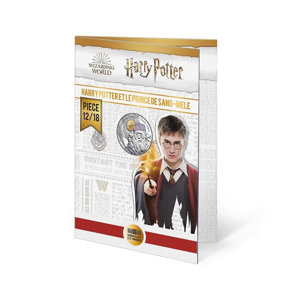 (EUR07.Unc.2021.10041357060005) 10 euro France 2021 Ag - Harry Potter & Half-Blood Prince (blister) (zoom)