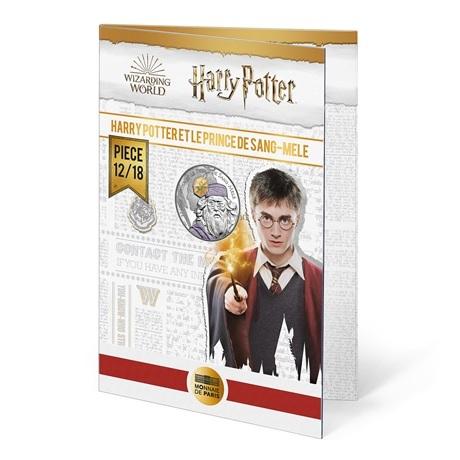 (EUR07.Unc.2021.10041357060005) 10 euro France 2021 Ag - Harry Potter et le Prince de sang-mêlé (packaging)