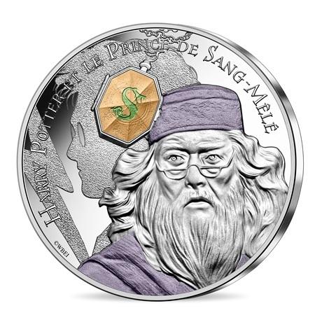 (EUR07.Unc.2021.10041357060005) 10 euro France 2021 argent - Harry Potter et le Prince de sang-mêlé Avers