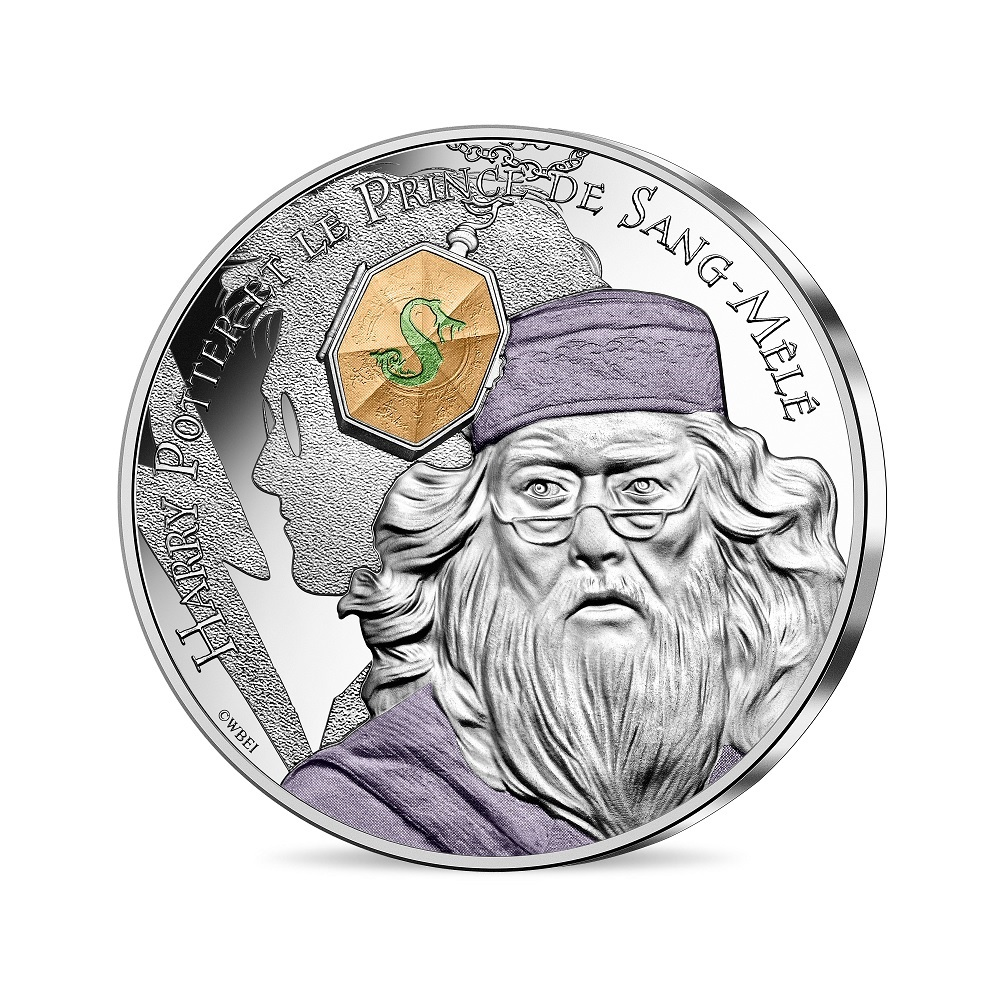 (EUR07.Unc.2021.10041357060005) 10 euro France 2021 silver - Harry Potter & Half-Blood Prince Obverse (zoom)