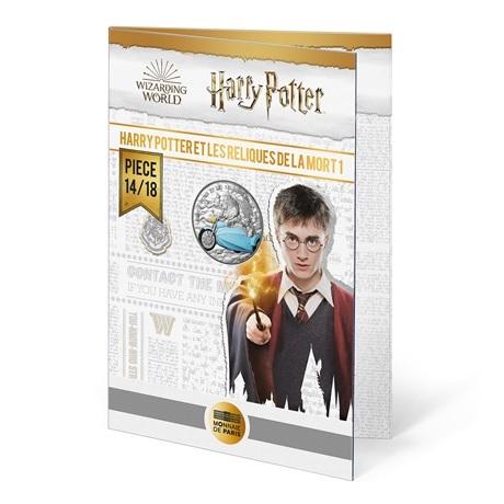 (EUR07.Unc.2021.10041357070005) 10 euro France 2021 Ag - Harry Potter et les Reliques de la Mort (packaging)