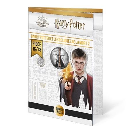 (EUR07.Unc.2021.10041357080005) 10 euro France 2021 Ag - Harry Potter et les Reliques de la Mort (packaging)