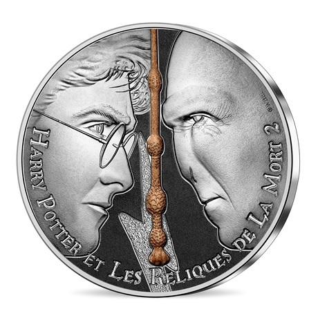 (EUR07.Unc.2021.10041357080005) 10 euro France 2021 argent - Harry Potter et les Reliques de la Mort Avers