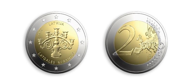 (EUR21.2.E.2020.1) 2 euro Latvia 2020 - Latgale ceramic (zoom)