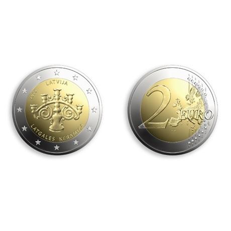 (EUR21.2.E.2020.1) 2 euro Lettonie 2020 - Céramique du Latgale