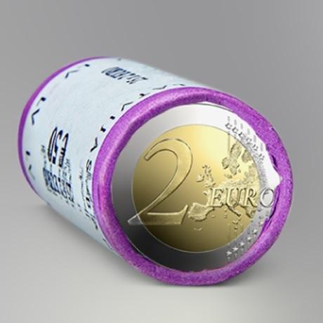(EUR21.2.E.2020.roll.1) Rouleau 2 euro Lettonie 2020 - Céramique du Latgale