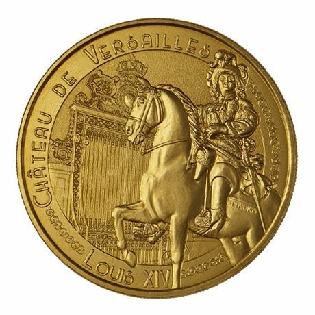 (FMED.Méd.souv.n.d._2021_.3336728455233) Louis XIV au château de Versailles Avers