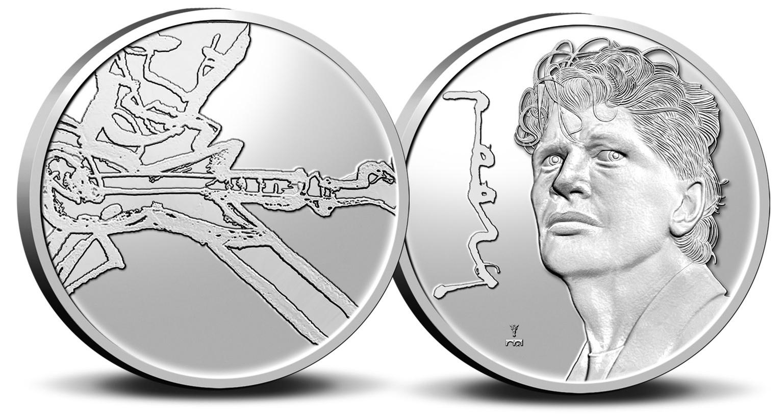 (MED14.KNM.2021.0112301) BU copper-nickel medal - Herman Brood (zoom)