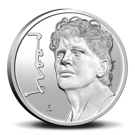 (MED14.KNM.2021.0112301) Médaille cupro-nickel BU - Herman Brood Revers