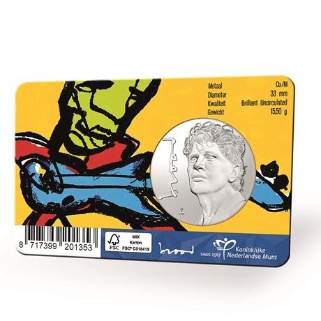 (MED14.KNM.2021.0112301) Médaille cupro-nickel BU - Herman Brood Verso