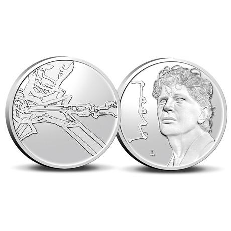 (MED14.KNM.2021.0112301) Médaille cupro-nickel BU - Herman Brood