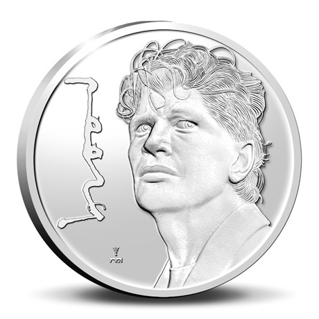(MED14.KNM.2021.0112308) Médaille argent BE - Herman Brood Revers