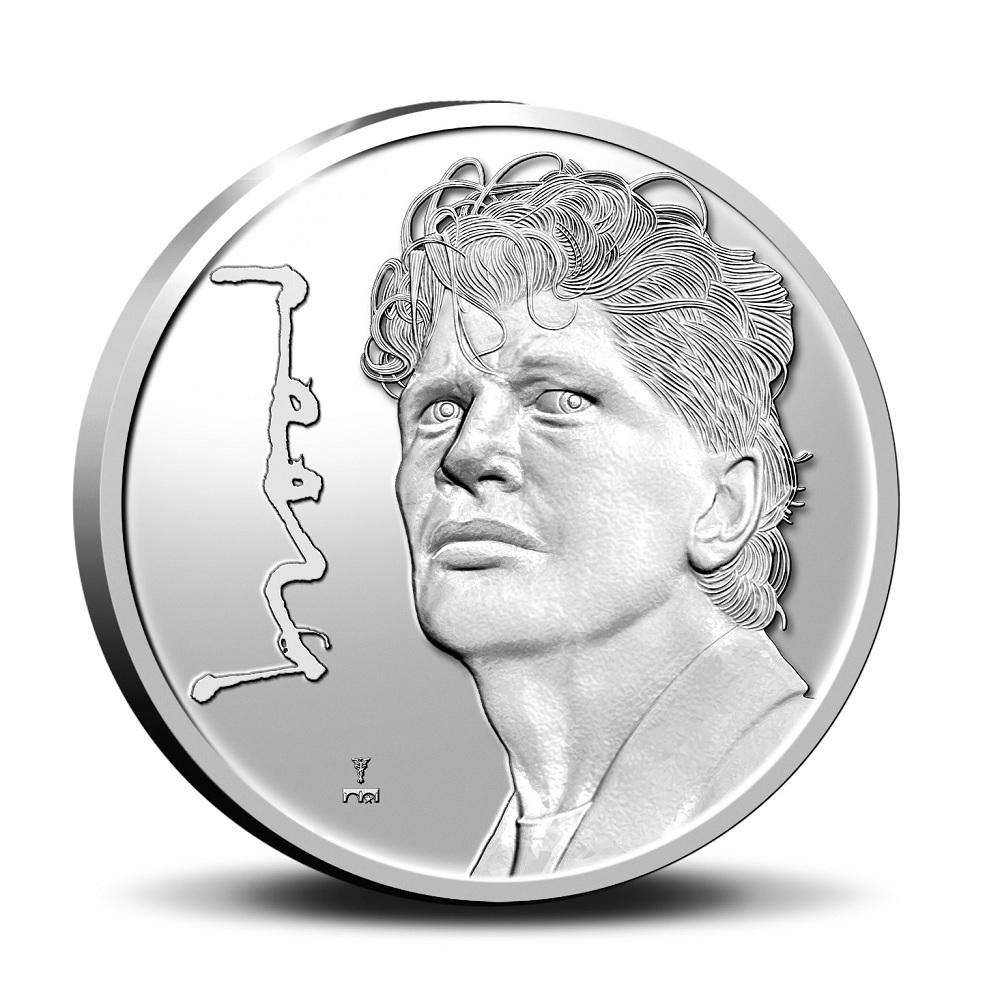 (MED14.KNM.2021.0112308) Proof silver medal - Herman Brood Reverse (zoom)